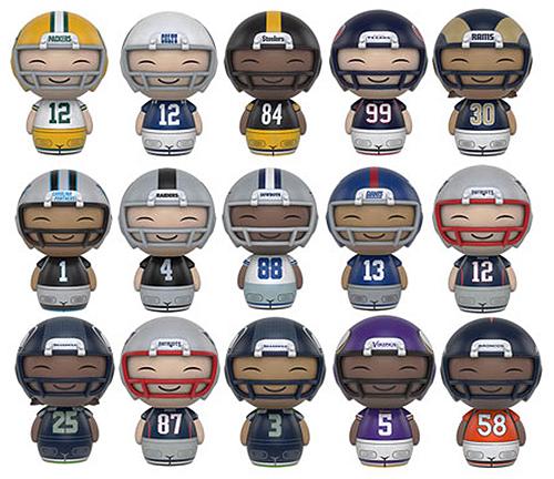 2016 Funko NFL Dorbz Series 1 figures