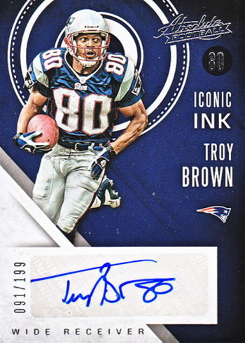 2016 Panini Absolute Football Iconic Ink