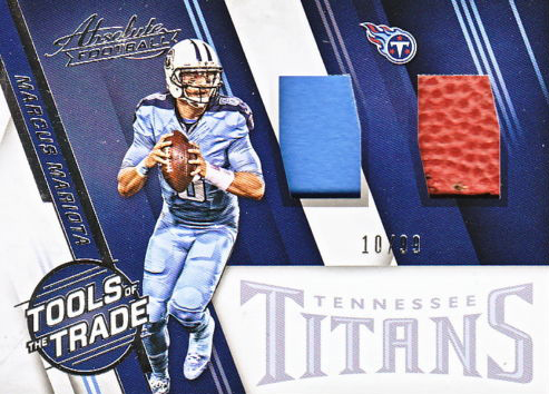 2016 Panini Absolute Football Tools of the Trade Dual