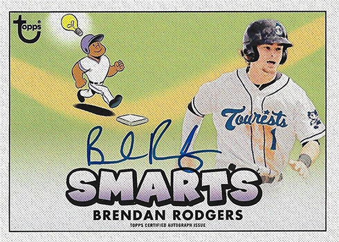 2016 THMILB Attributes Autographs Brendan Rodgers