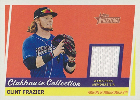 2016 THMILB Clubhouse Collection Relics Clint Frazier
