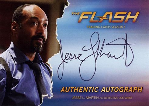 2016 The Flash Season 1 Autographs Jesse L Martin