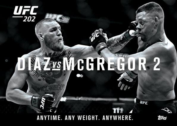 UFC 202 Diaz, McGregor