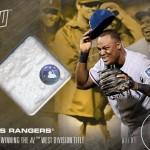 498 Texas Rangers Relic 1/1