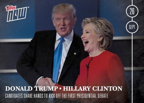 1 Trump, Clinton