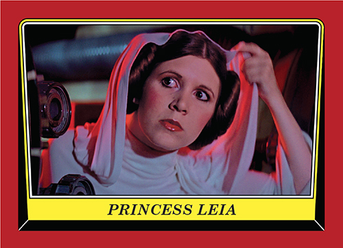 2016 Topps Rogue One Mission Briefing Promo Card 108 Princess Leia