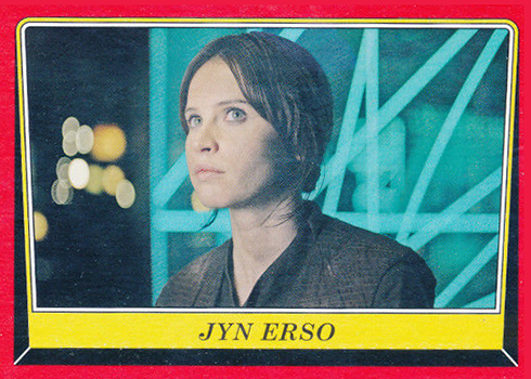 2016 Topps Star Wars Rogue One Mission Briefing Base