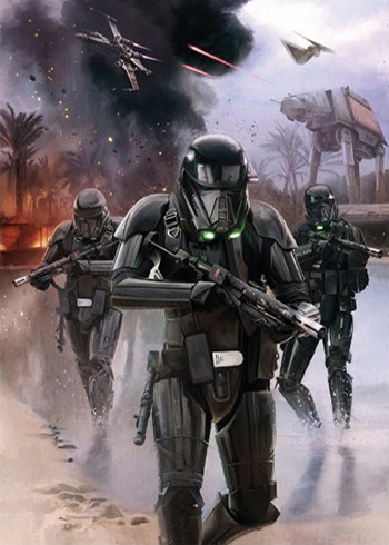 2016 Topps Star Wars Rogue One Mission Briefing Montage