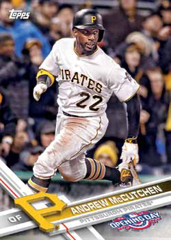 2017 Topps Opening Day Baseball Base Andrew McCutchen