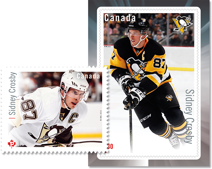 ebbfb426170 Canada Post announces Great Canadian Forwards hockey stamps
