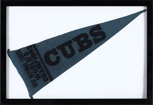 1908 Chicago Cubs World Champions Pennant Heritage Auctions
