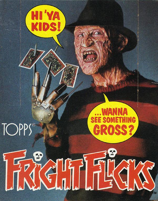 1988 Topps Fright Flicks Box