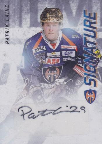 2015-16 Finnish Cardset Patrik Laine Autograph 125