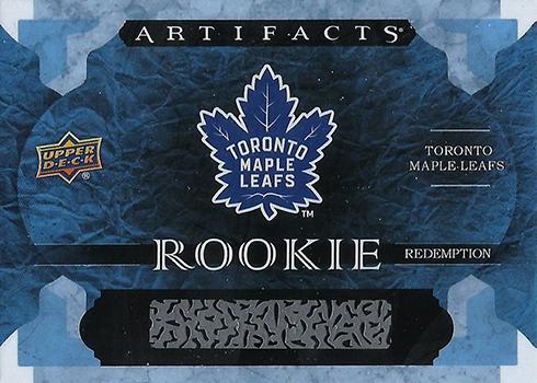 2016-17 Upper Deck Artifacts Toronto Maple Leafs Rookie Redemption