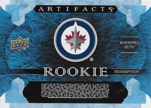 2016-17 Upper Deck Artifacts Winnipeg Jets Rookie Redemption