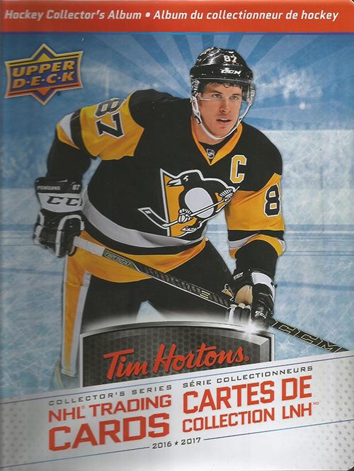 2016-17 Upper Deck Tim Hortons Hockey Binder
