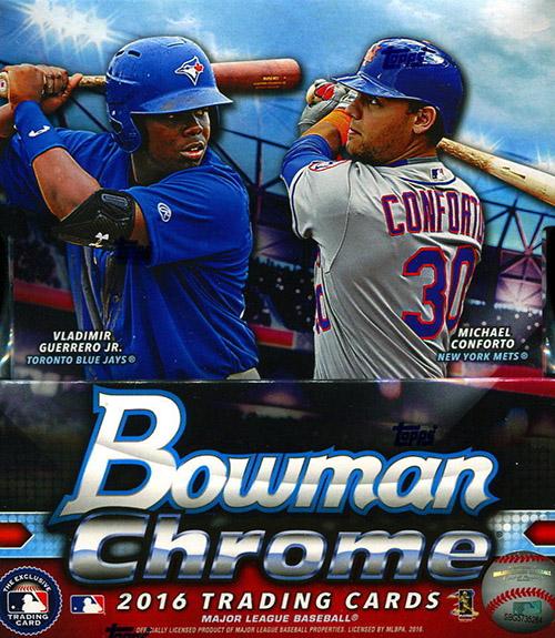 2016 Bowman Chrome Hobby Box