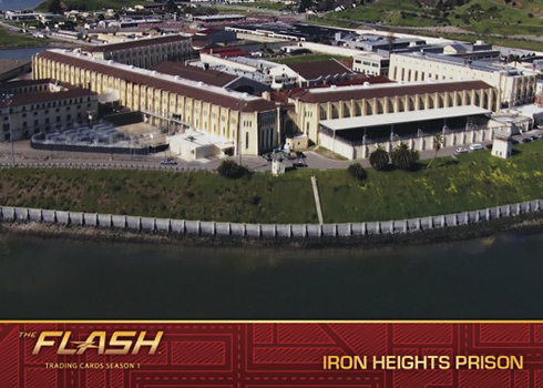 2016 Cryptozoic The Flash Season 1 Locations