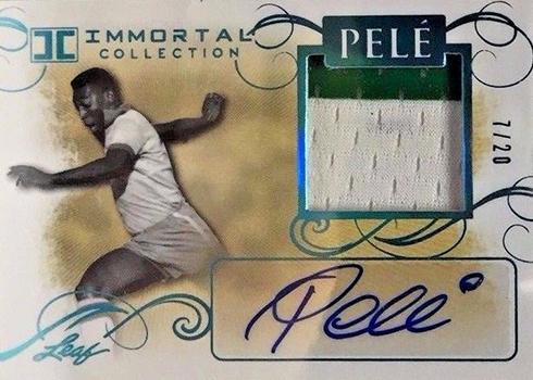2016 Leaf Pele Immortal Collection Memorabilia Autograph