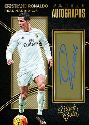 2016 Panini Black Gold Soccer Autographs