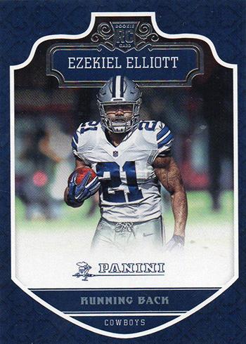 2016 Panini Ezekiel Elliott RC