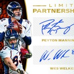 2016 Panini Limited Football Limited Partnership Dual Autographs
