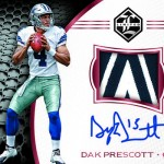 2016 Panini Limited Football Rookie Patch Autographs Ruby Spotlight