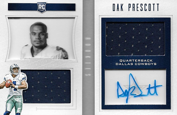 2016 Panini Playbook Dak Prescott RC
