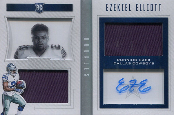 2016 Panini Playbook Ezekiel Elliott RC