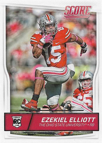 2016 Score Ezekiel Elliott RC
