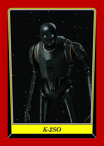 2016 Star Wars Rogue One Mission Briefing NYCC Expansion E-3 K-2SO