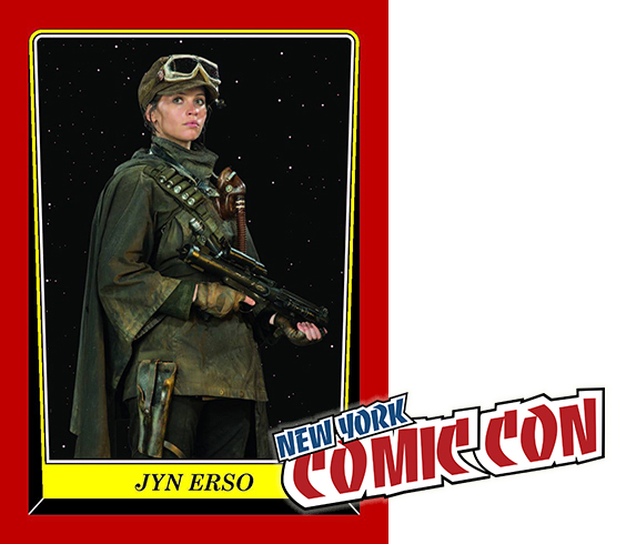 2016 Star Wars Rogue One Mission Briefing NYCC Expansion Jyn Erso Header
