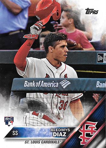2016 Topps Update Series Baseball Variations Aledmys Diaz