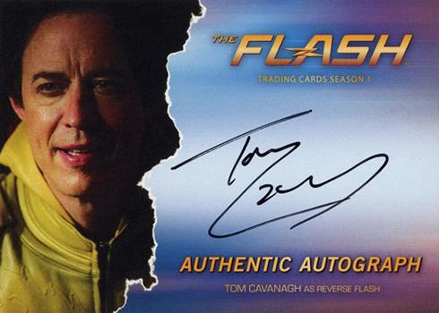2016 The Flash Season 1 Autographs Tom Cavanagh Reverse Flash