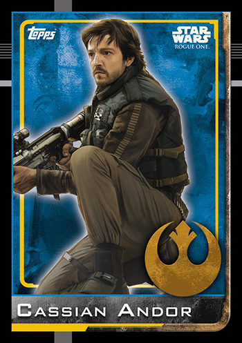 2016 Topps UK Rogue One Base Cassian Andor