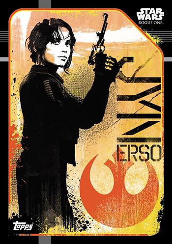 2016 Topps UK Rogue One Base Jyn Erso