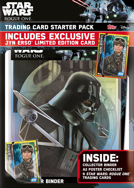 2016 Topps UK Rogue One Starter Kit
