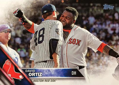 2016 Topps Update All-Star Variations 254 David Ortiz