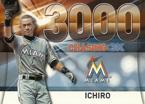 2016 Topps Update Series Baseball Chasing 3000