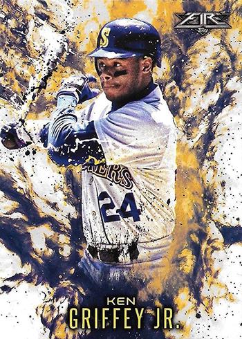 2016 Topps Update Series Baseball Fire Ken Griffey Jr