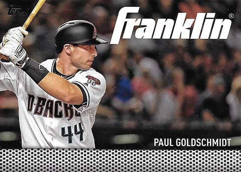 2016 Topps Update Series Baseball Team Franklin Paul Goldschmidt