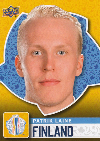 2016 Upper Deck World Cup of Hockey Patrik Laine