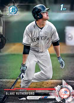 2017 Bowman Baseball Chrome Prospect