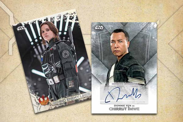 2017 Topps Star Wars Rogue One Series 2 Header