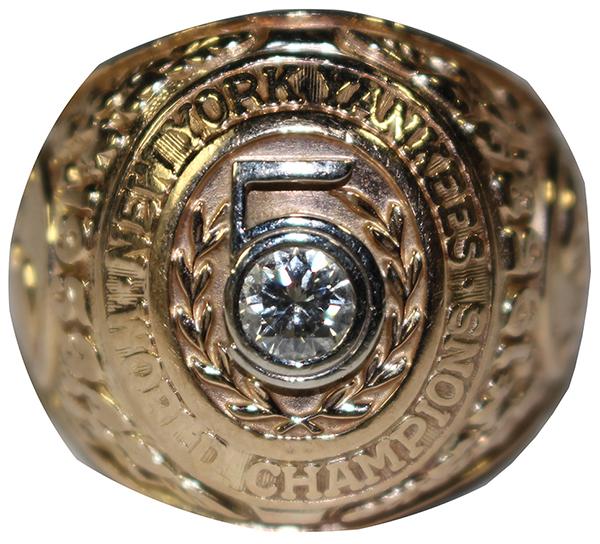 Yogi Berra 1953 World Series Ring