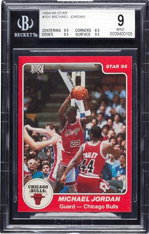 1984-85 Star Michael Jordan BGS 9