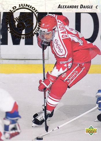 1992-93 Upper Deck Alexandre Daigle