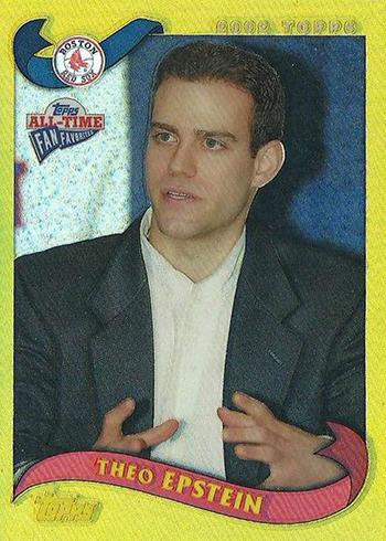 2005 Topps Fan Favorites Chrome Refractor Theo Epstein