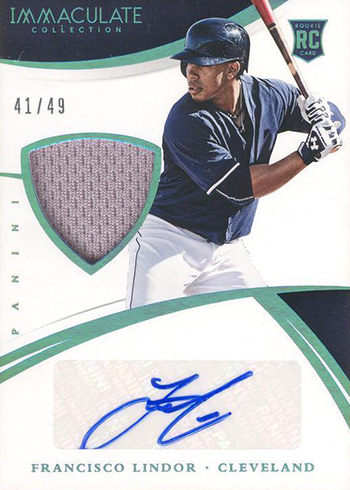 2015 Immaculate Collection Francisco Lindor RC
