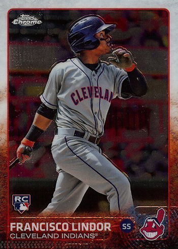2015 Topps Chrome Francisco Lindor RC